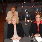 Nicolle Chrétien, Janine Leroy et Eliane Héry