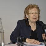 Pierrette Sarrazin et la Commission sociale