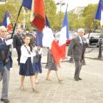 Jeunes porte-drapeaux