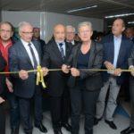 Inauguration avec Mme Geneviève Darrieussecq