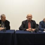 Les membres d'honneur : C. Brettes, D. Cougy et L. Marès