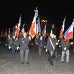 L'arrivée des drapeaux