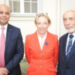 Le Président avec Madame la Directrice Générale de l'ONACVG