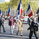 Nos porte-drapeaux défilent sur les Champs-Elysées